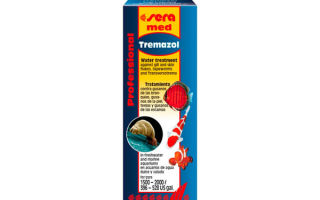 Sera tremazol – тремазол – домашняя аквариумистика